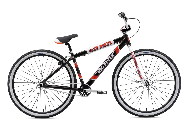 SE Big Flyer 29 Black 2019 | BMX-cykler