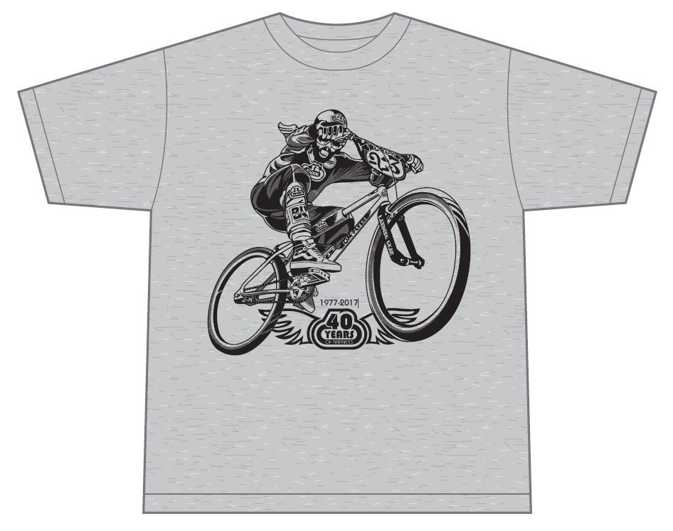 - SE 40-Years Of Radness T-Shirt